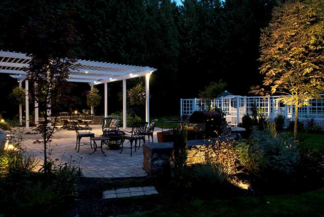 Articles outdoor lighting to brighten your seattle landscape this article shares some ways to create nighttime beauty in your seattle area landscape and offers aloadofball Image collections