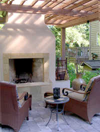 Fireplace Charm by Nyce Gardens